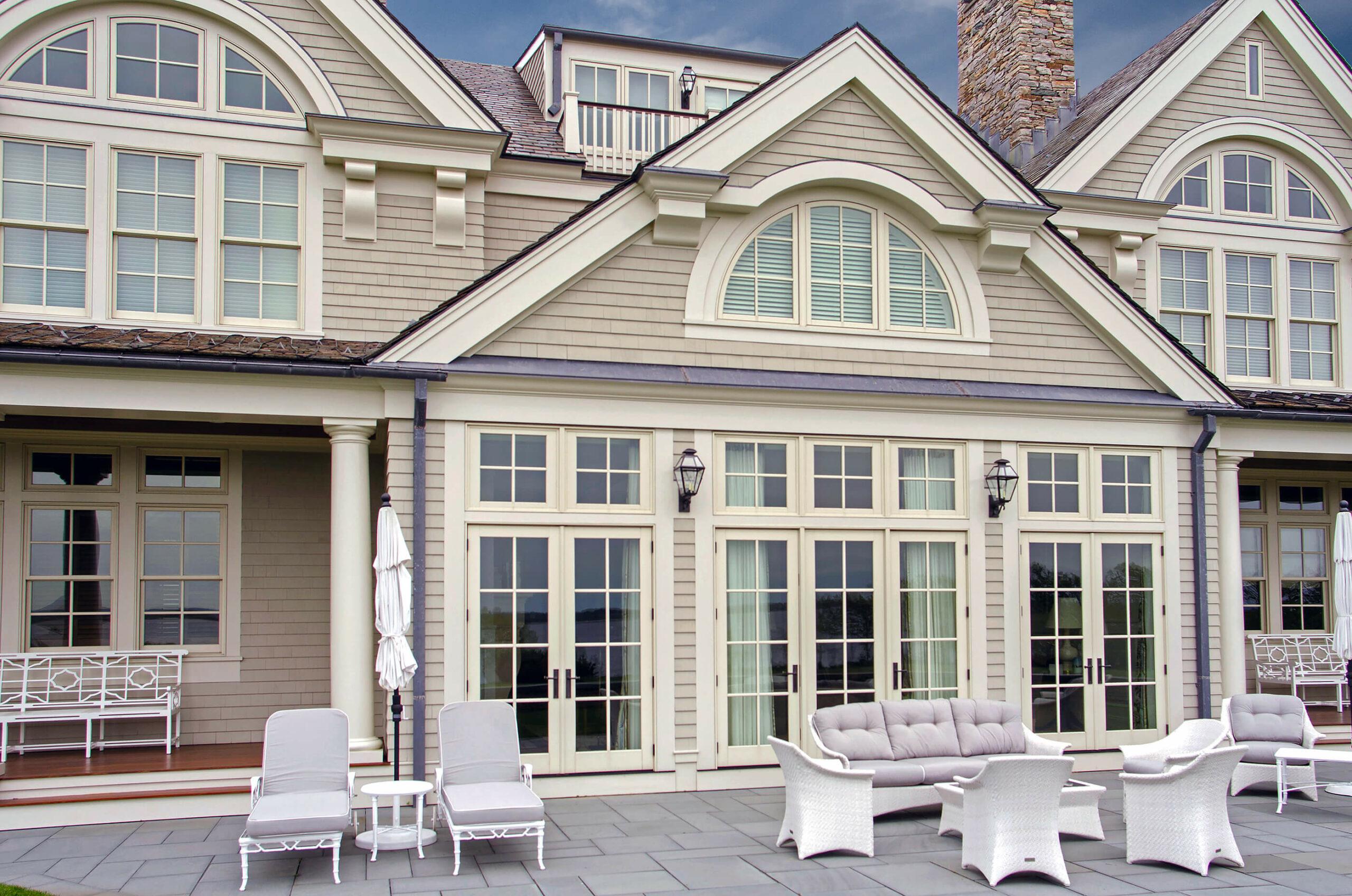 Photo of a seaside home with Kolbe Windows