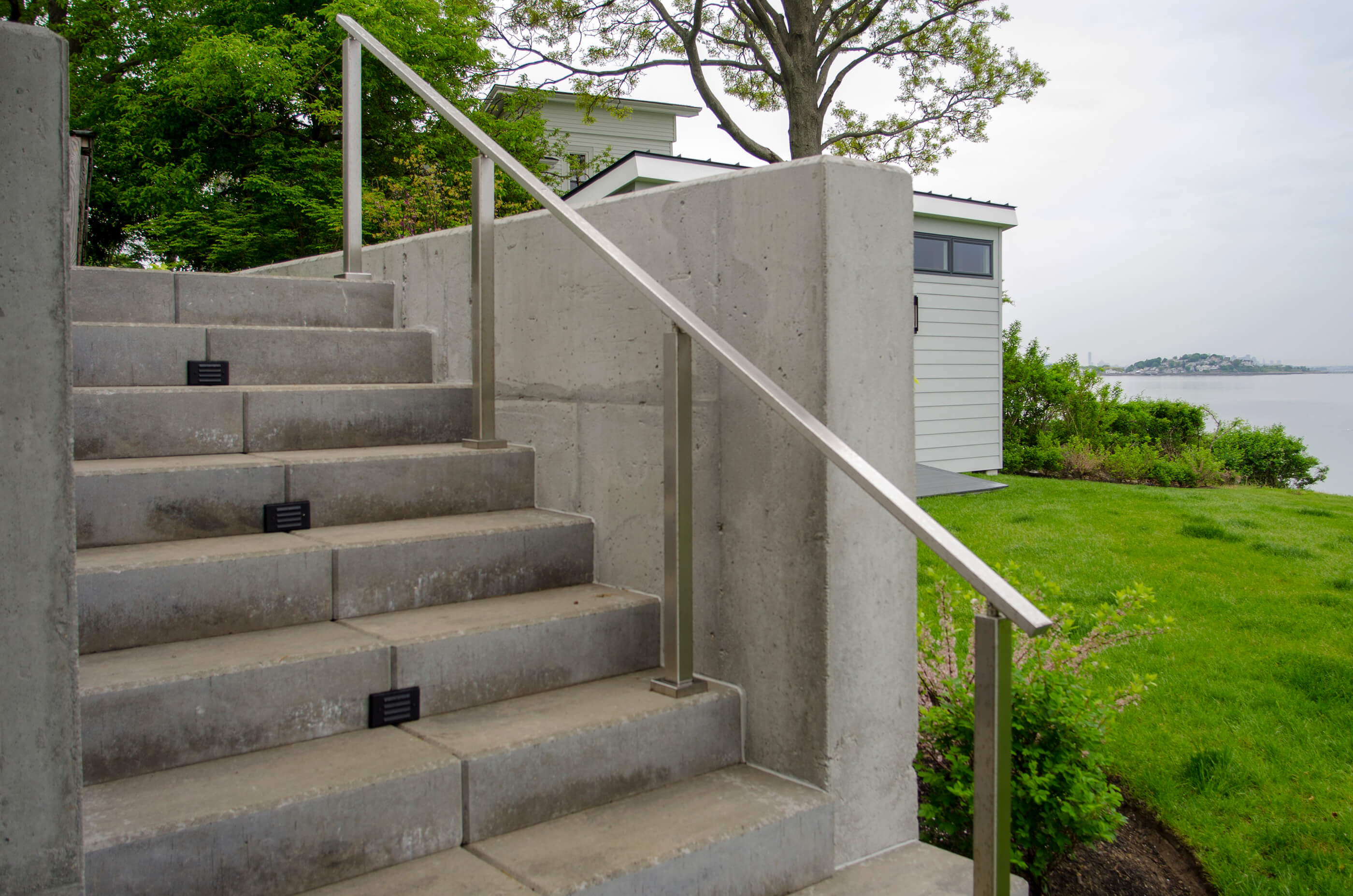 Photo of modern stair rail