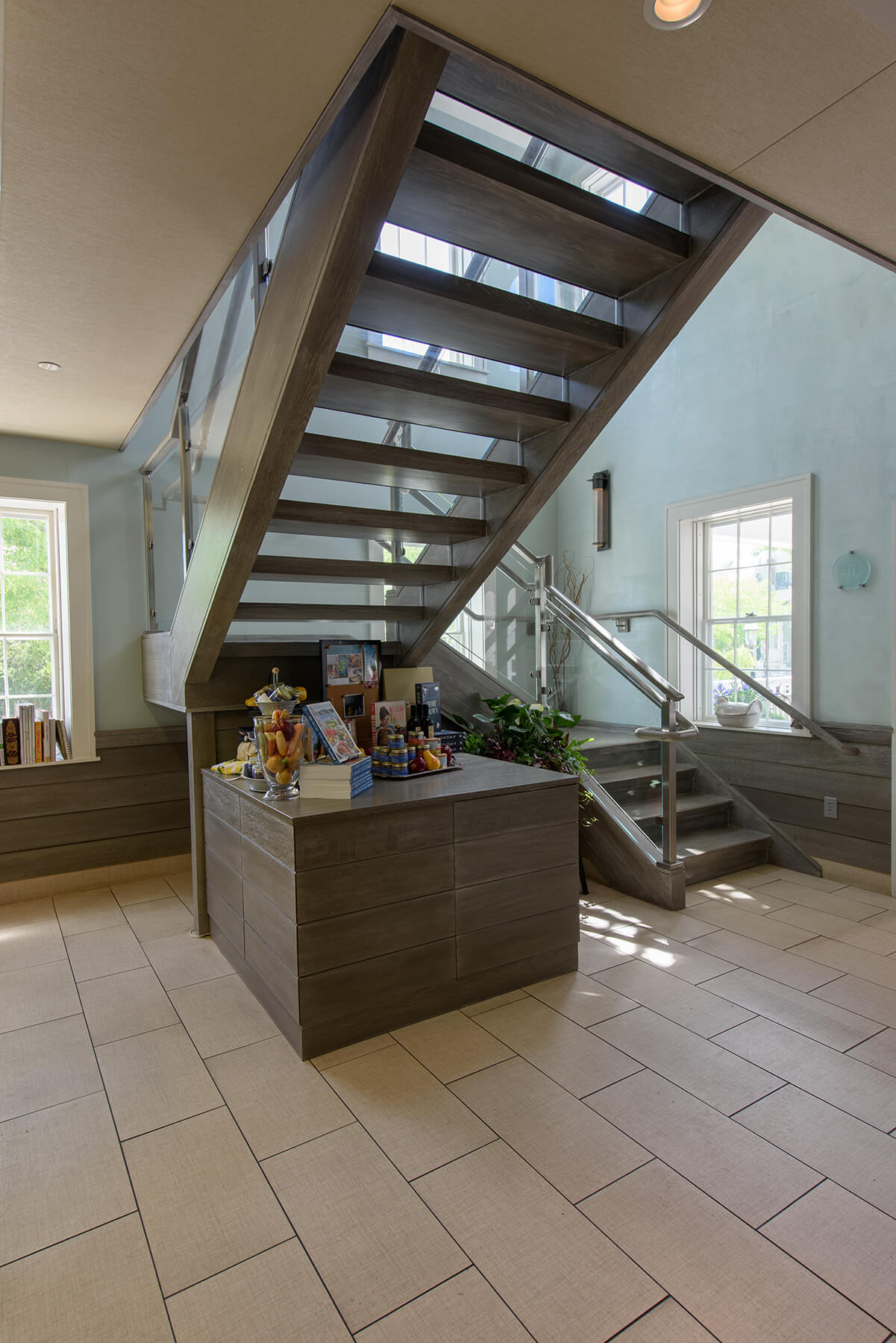 Photo of Cooper Stairworks glass modern stair
