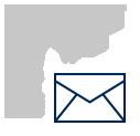 lightbulb and envelope - icon