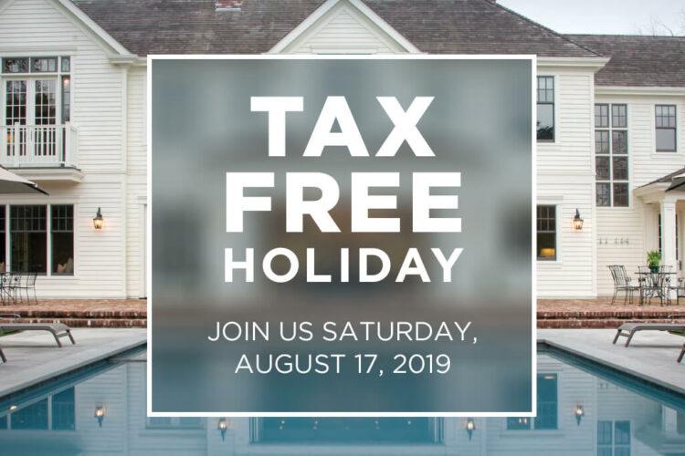 <span class='d'>Saturday, August 17, 2019 </span>MASSACHUSETTS TAX FREE WEEKEND