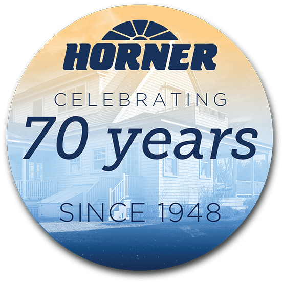 Button Horner celebrating 70 years