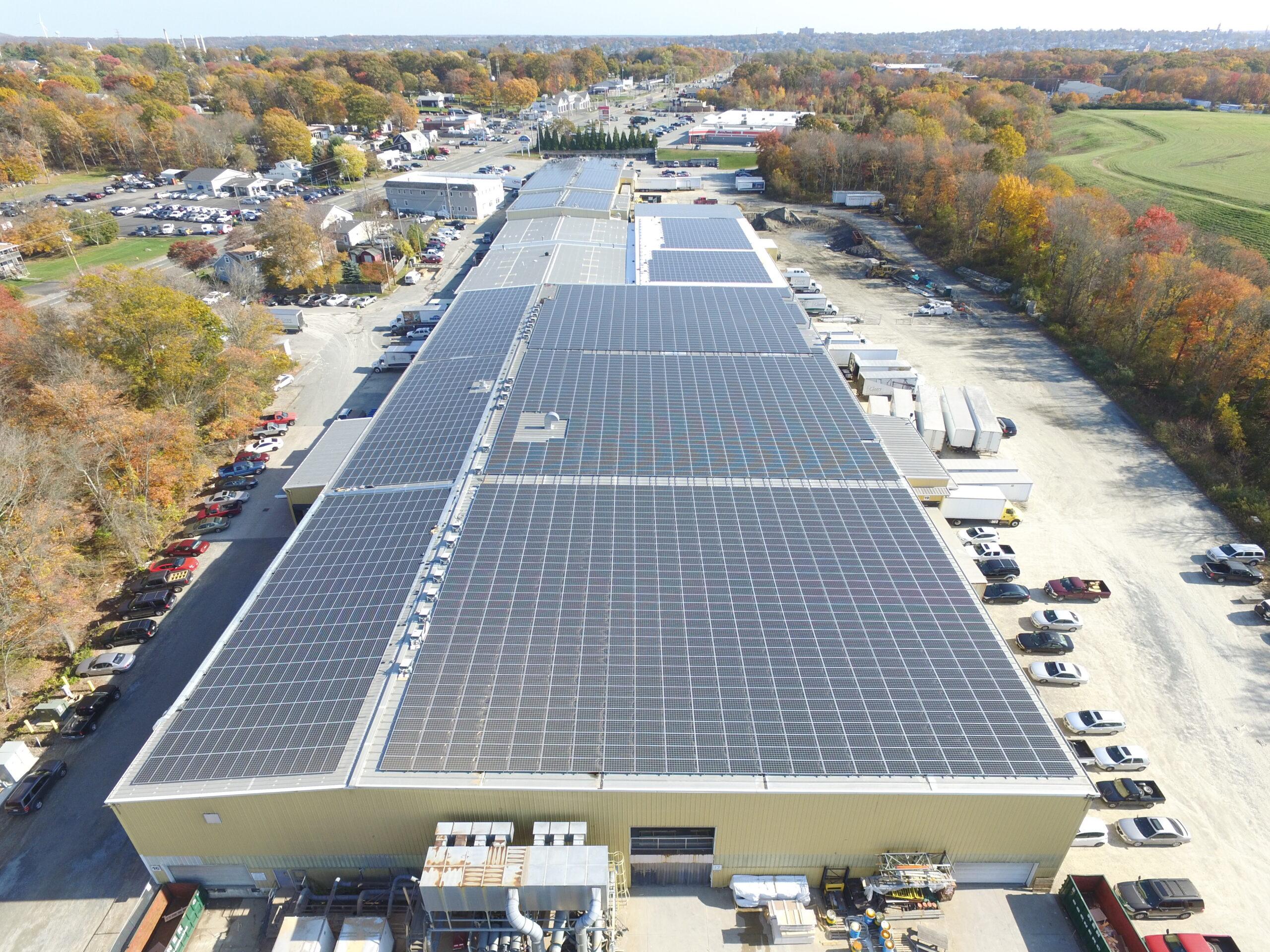 Solar panels on NAC facility photo