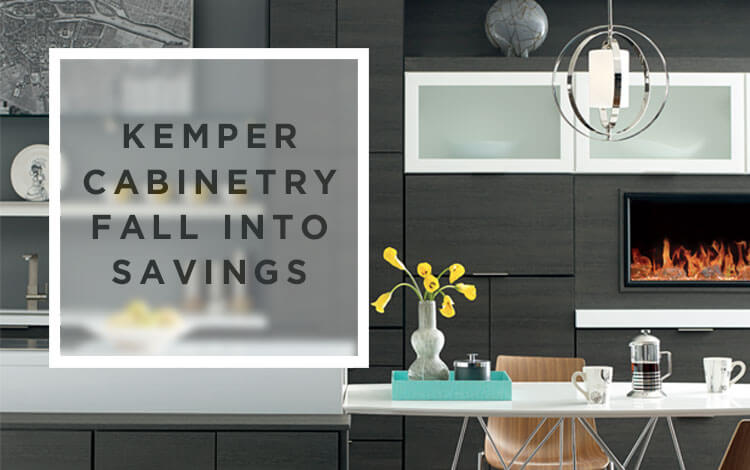 Kemper Cabinetry: Fall Savings Event