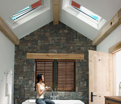 Velux electric venting skylight photo