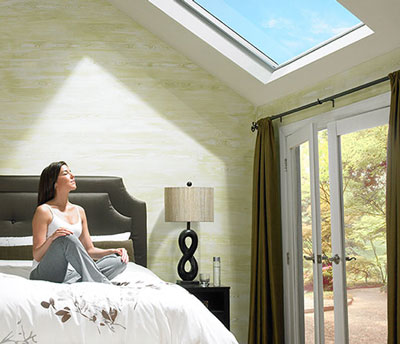 Velux fixed roof window photo