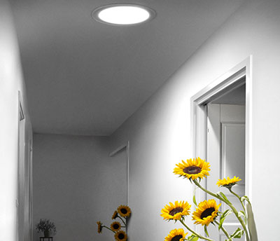 Velux sun tunnel photo