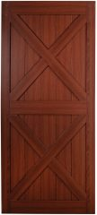 Renin sagrada cherry sliding barn door photo