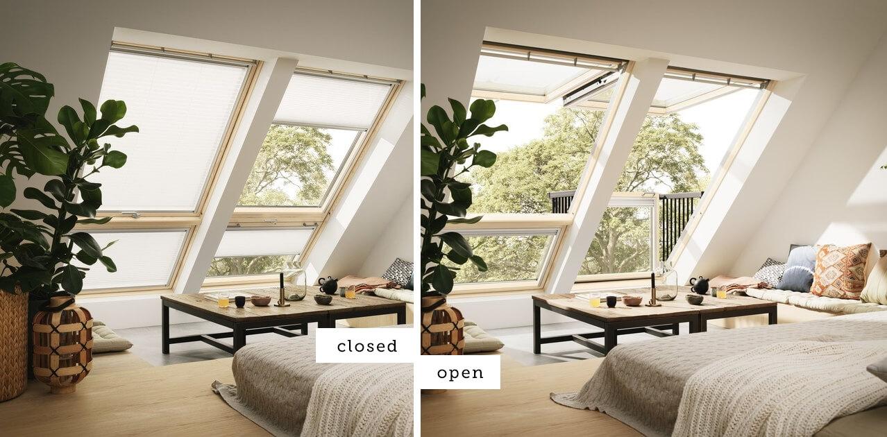 Velux roof window photo