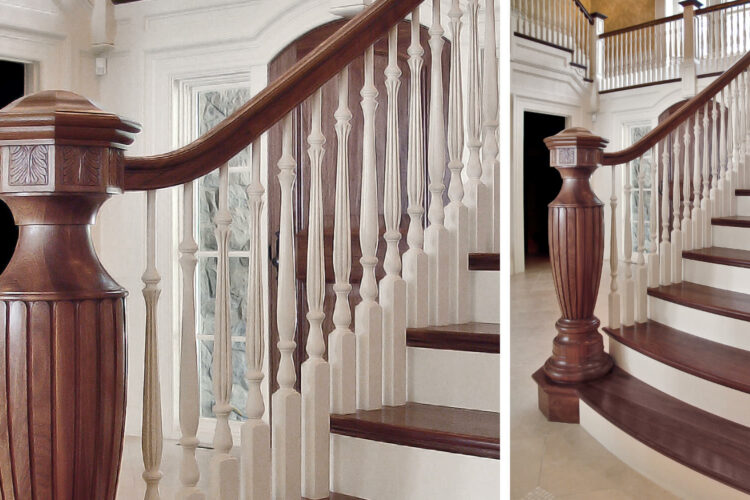 Custom Newel Post Roundup