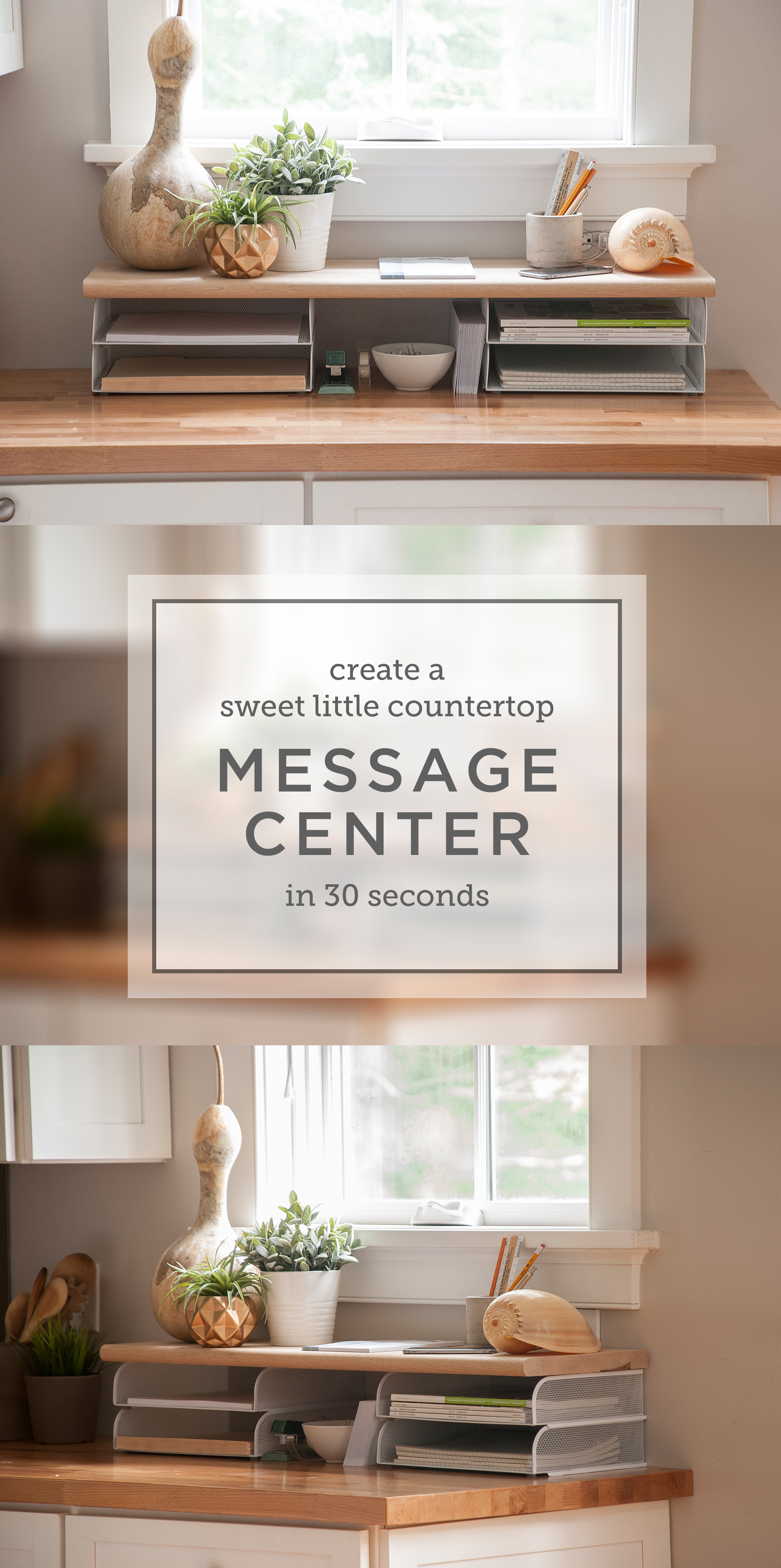 Photos of message center