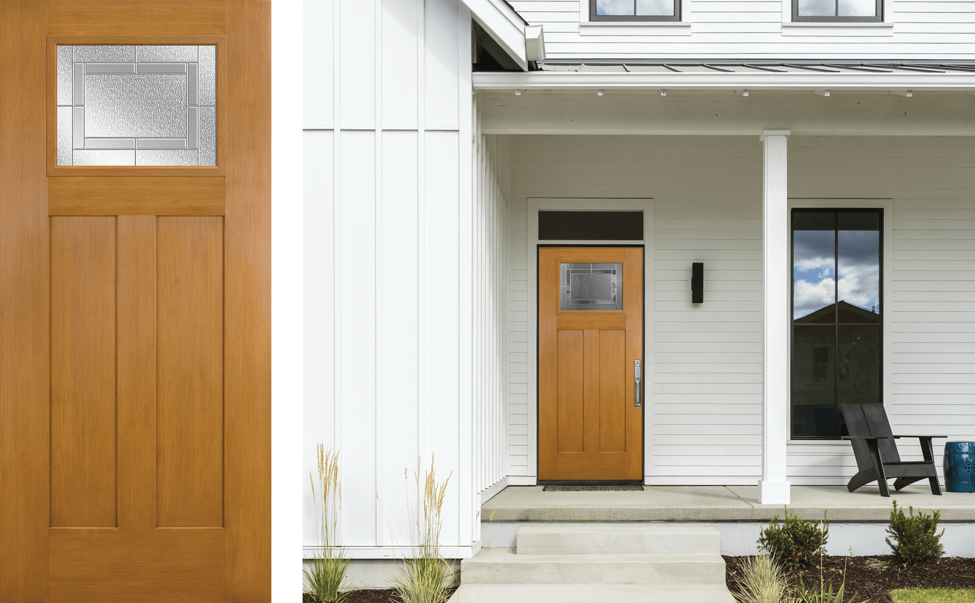 Photo of Masonite Craftsman door