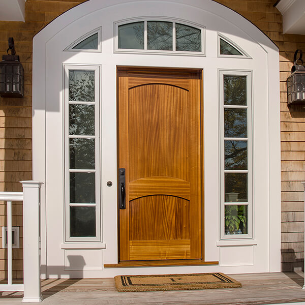 Captiva wood door photo