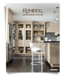 Photo of Kemper cabinetry catalog