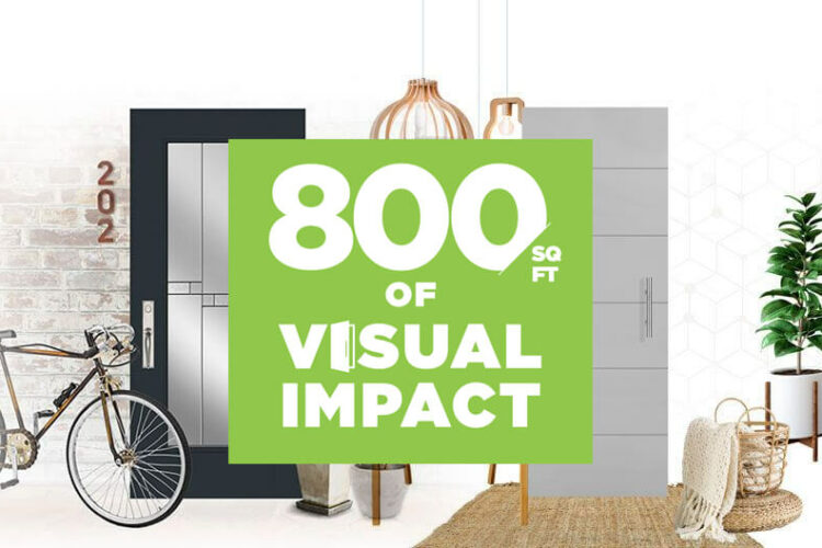 Masonite Launches 800 sq ft of Visual Impact Campaign