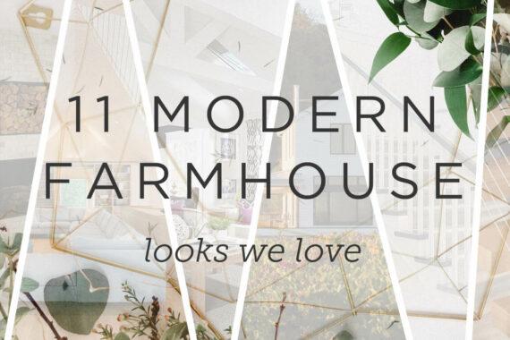 Modern farmhouse looks we love photo