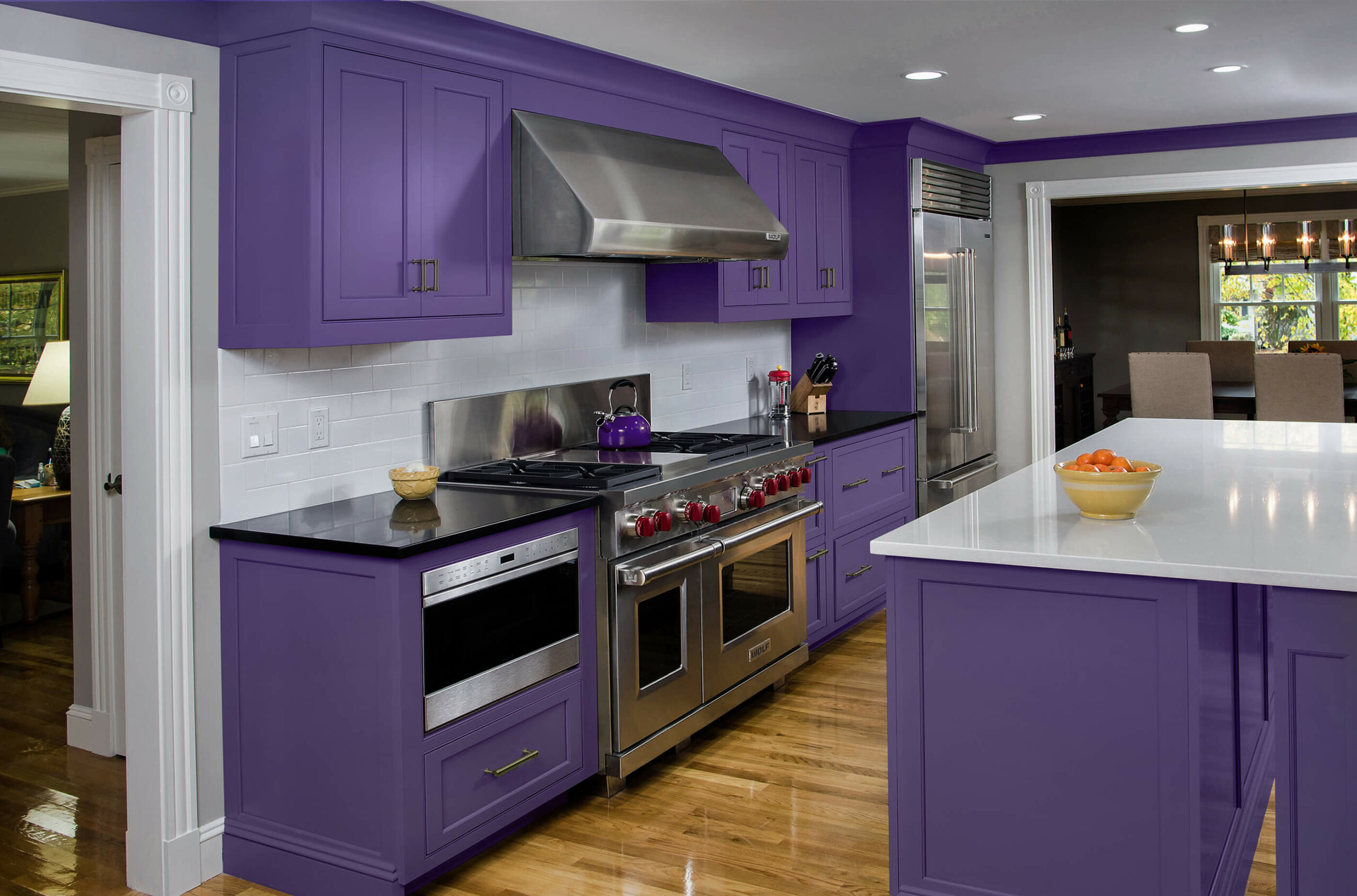 Photo of Bari purple kitchen