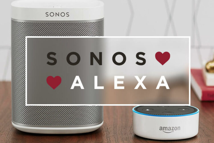 Sonos + Alexa / A match made in heaven.